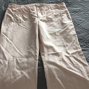 Loft Size 14 Light Pink Pants